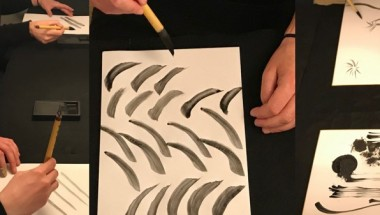 Summer Calligraphy Art lessons in Tokyo