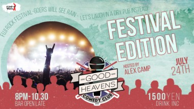 Good Heavens Comedy Club – Festival Edition