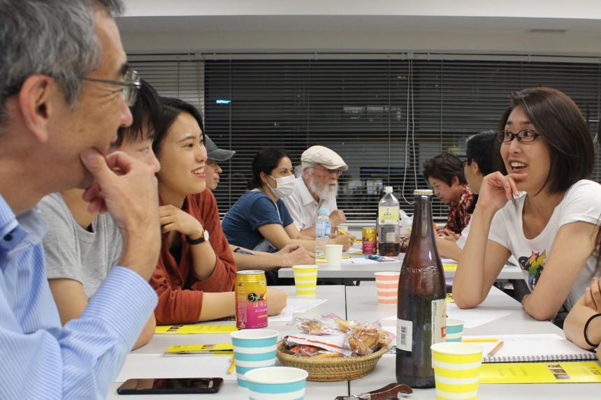 Freedom Toast Café Amnesty International Japan climate change Chris Kozak events