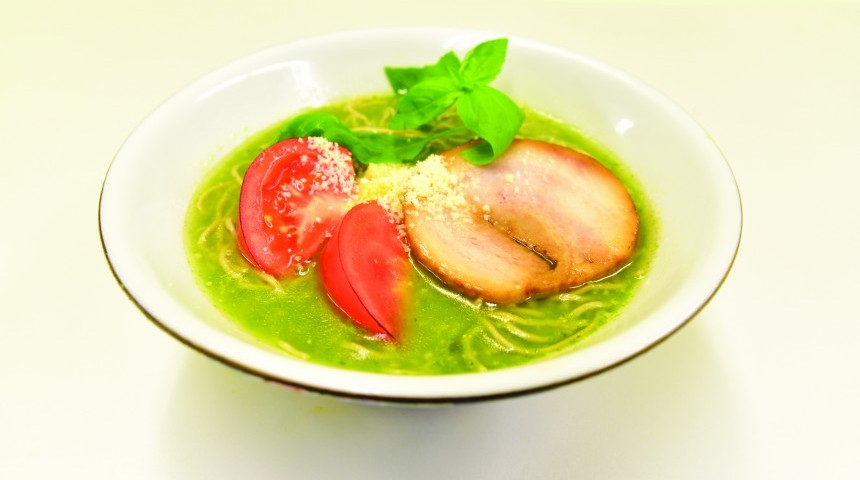 Taste the Rainbow at Ramen Shikisai