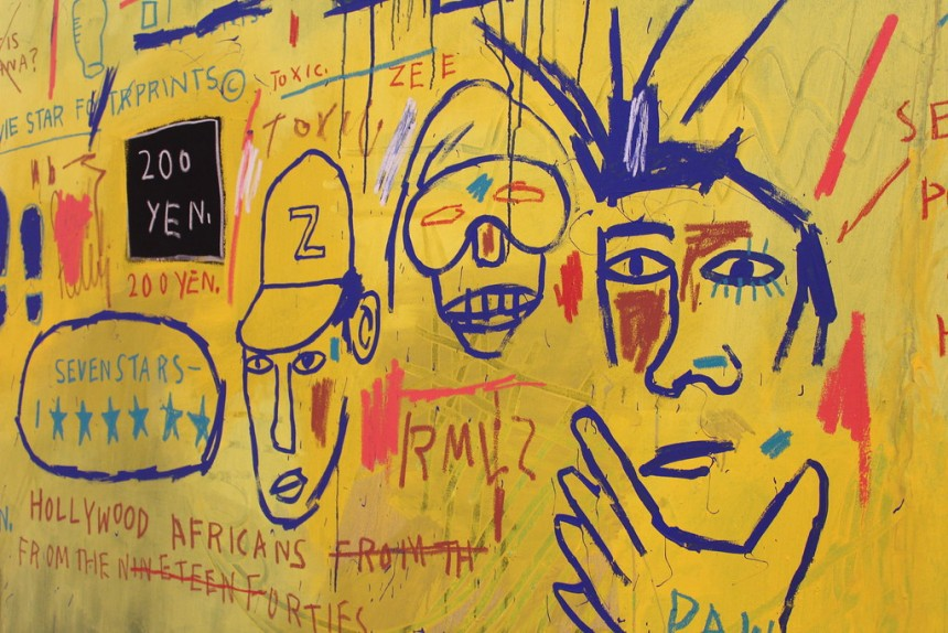 september recommends jean michel basquiat art exhibition impression tokyo roppongi painting