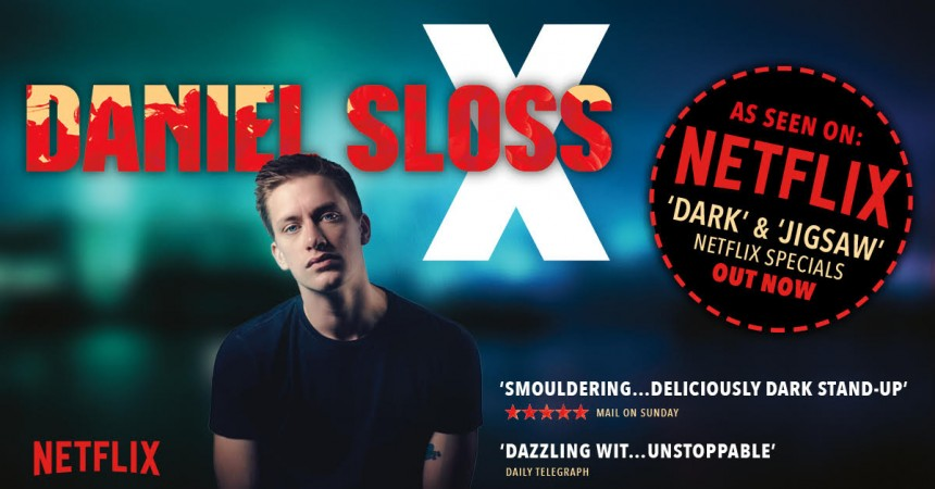 Daniel Sloss Comedy Live Nation Japan