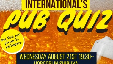 AITEN August Pub Quiz