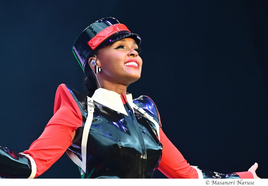 Janelle Monáe's stage presence was spectacular during her performance on Friday.