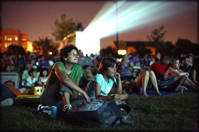 film museum outdoor cinema movie night