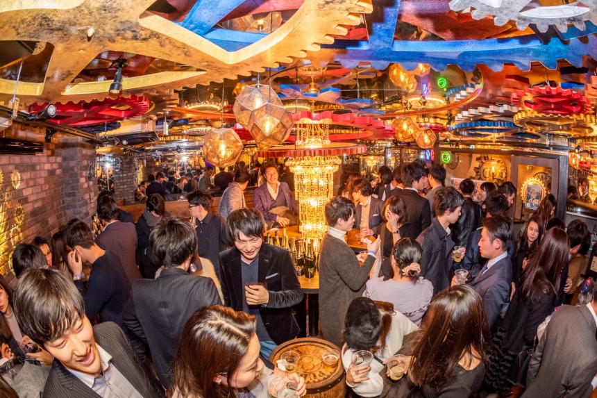 The Public Stand Yokohama Dining Bars Drinking