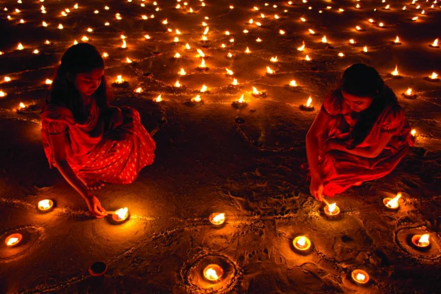 Diwali Festival Nishikasai Lights Culture India
