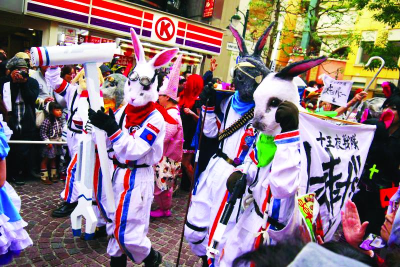 Kawasaki Halloween Pride Parade LGBTQ Costume Culture