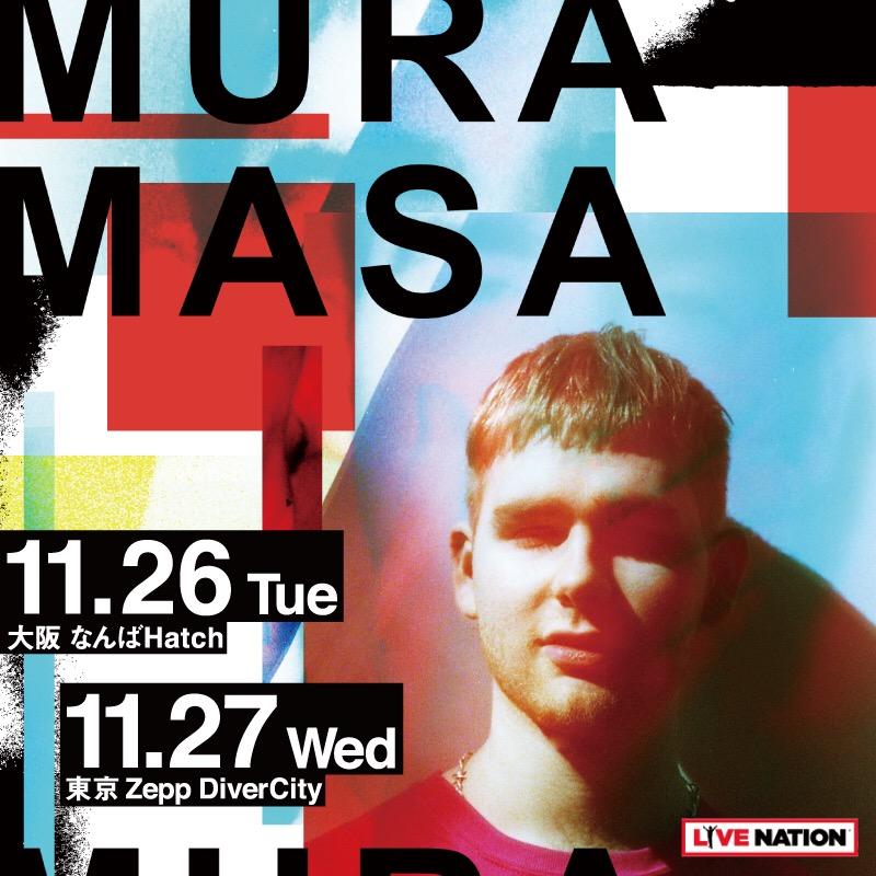 MURA MASA JAPAN TOUR 2019 NOVEMBER zepp divercity tokyo Nanba hatch