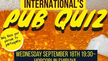 AITEN September Pub Quiz