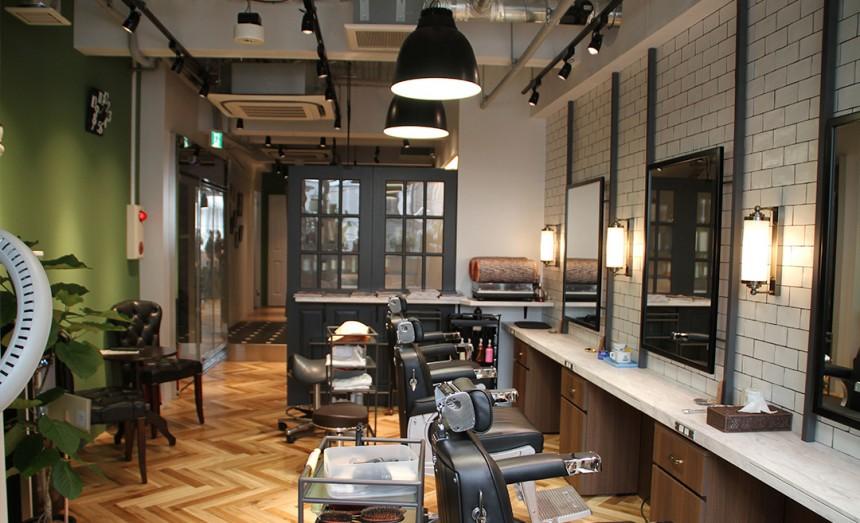 beauty skincare hair nail salon Tokyo