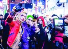 Shibuya Halloween 2019 Party Drinking