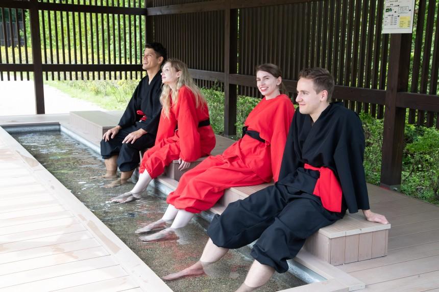 NARUTO X BORUTO Fuji Hidden Leaf Village & Oshino Shinobi No Sato