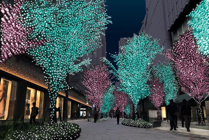 Hibiya Magic Time Illumination