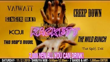 RACKETT LIVE IN JAPAN!