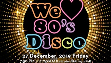 """We ♥ 80s Disco"" Night Returns to Grand Hyatt Tokyo"