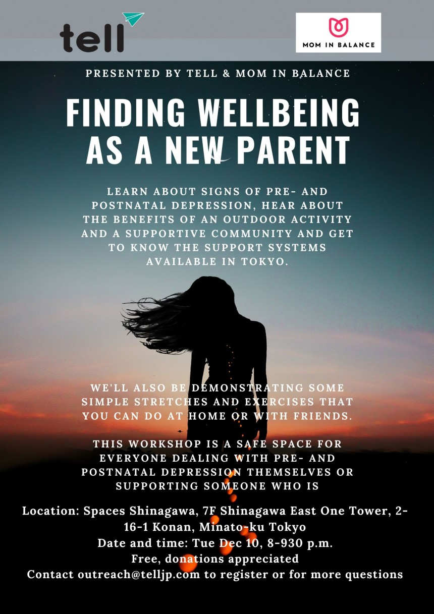 Finding wellbeing as a parent