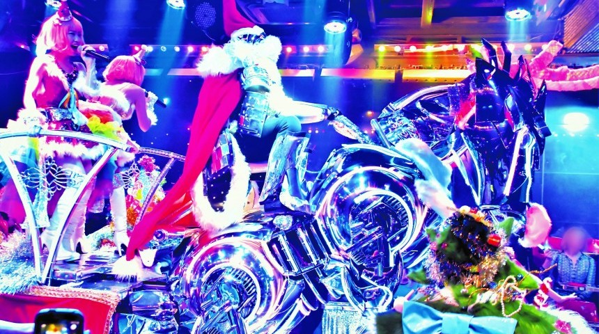 A Dazzling Christmas at Robot Restaurant