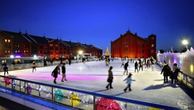 Art Rink in Yokohama Red Brick Warehouse