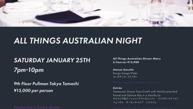 All Things Australian Night