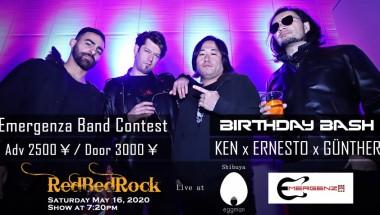 RedBedRock at Emergenza's semi-final!