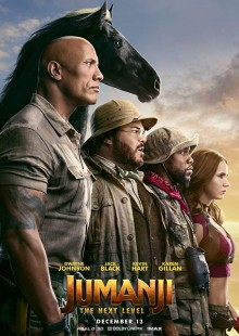 Jumanji The next level Sony Pictures Columbia Pictures New Films release action comedy drama