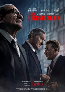 The Irishman Martin Scorsese drama crime action biography Jimmy Hoffa