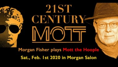 21ST CENTURY MOTT Morgan Fisher plays Mott the Hoople
