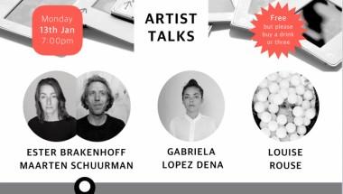 Artist Talks: Winter Edition