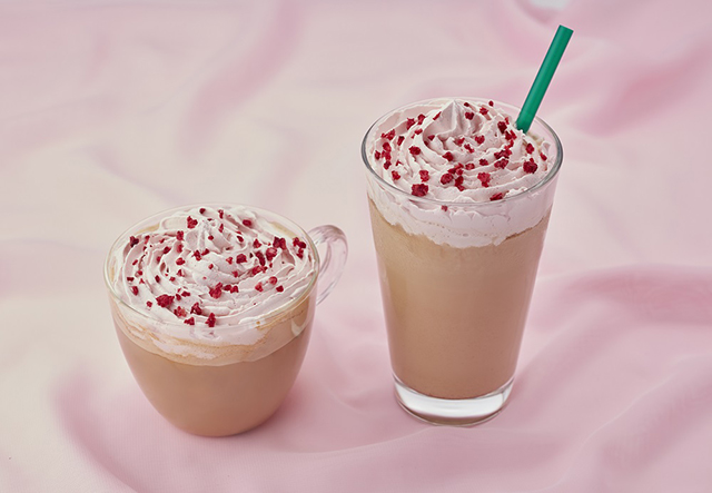 drink white mocca chocolate limited time sweets Valentine's Time Limited Drink at Tully's