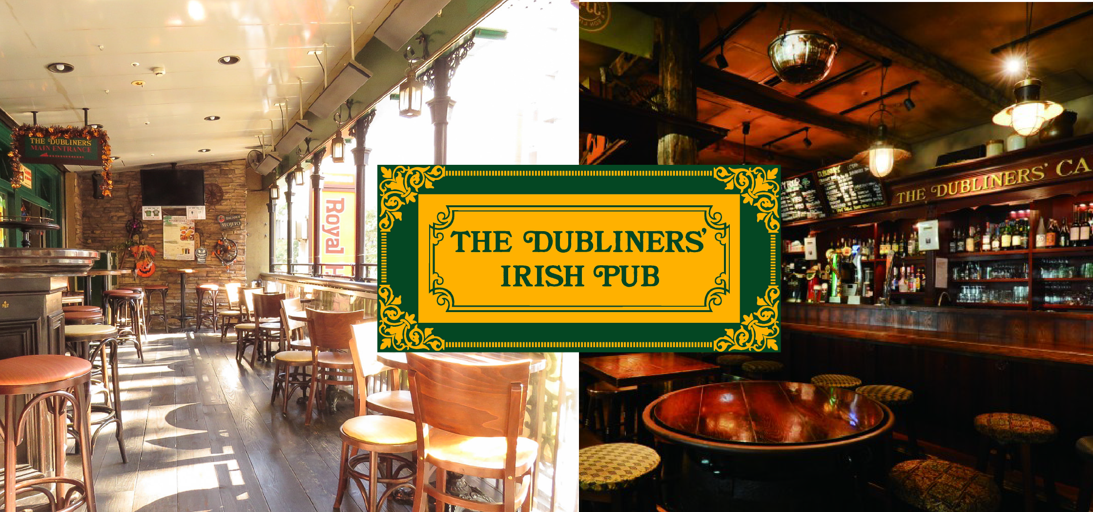 Dubliners Pub Sapporo Lion special offer