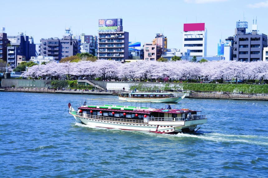 Yakatabune boat cruise fun
