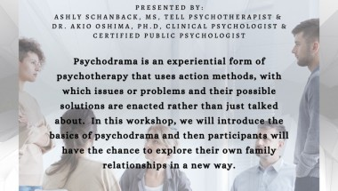 Exploring family relationships with psychodrama