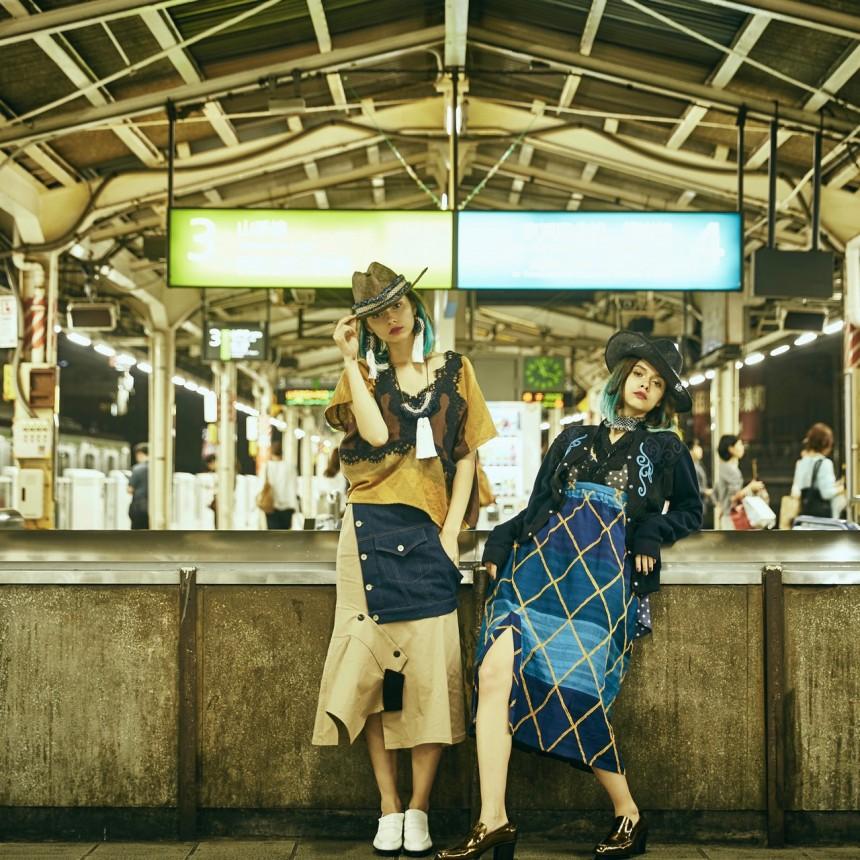 2017SS Montage 1 hisui by hiroko ito japan designer tokyo
