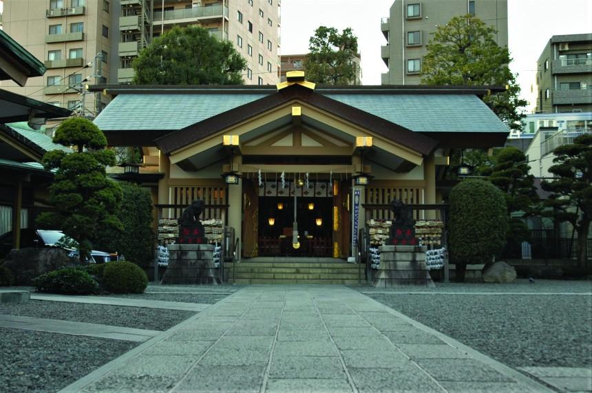Tachiaigawa Tokyo Tenso Suwa Shrine japan travel historical shinagawa