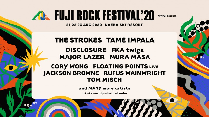 FUJI ROCK 2020 TAME IMPALA THE STROKES