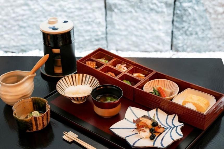 Park Hyatt, Kyoto, Breakfast, Japanese cuisine, guests