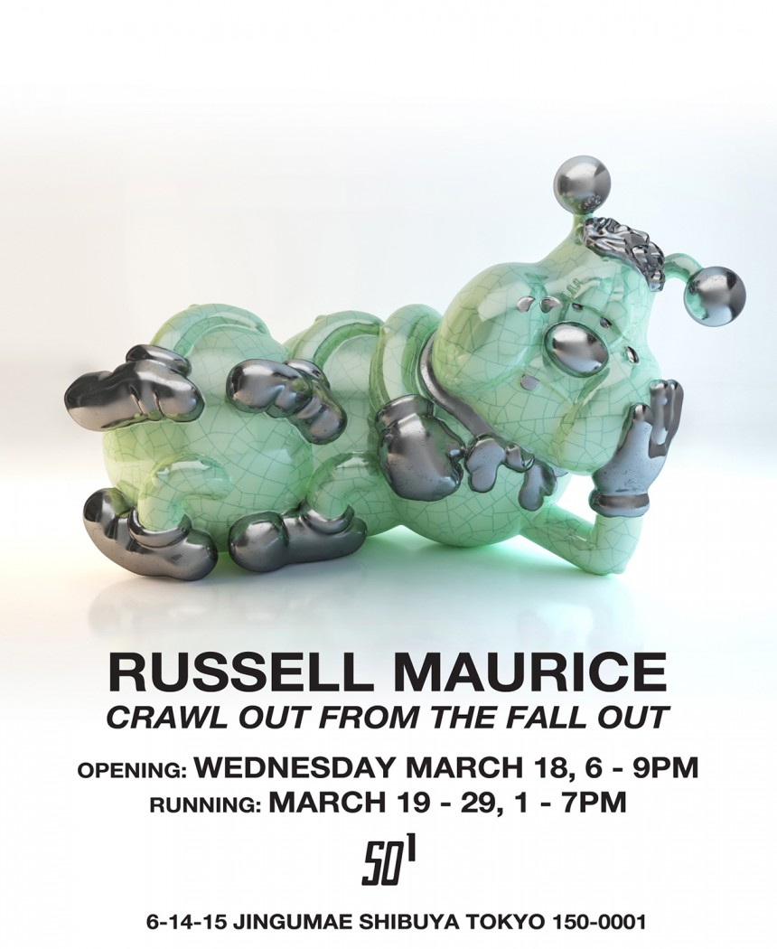 russell maurice crawl out from the fallout tokyo art gallery SO1 harajuku future