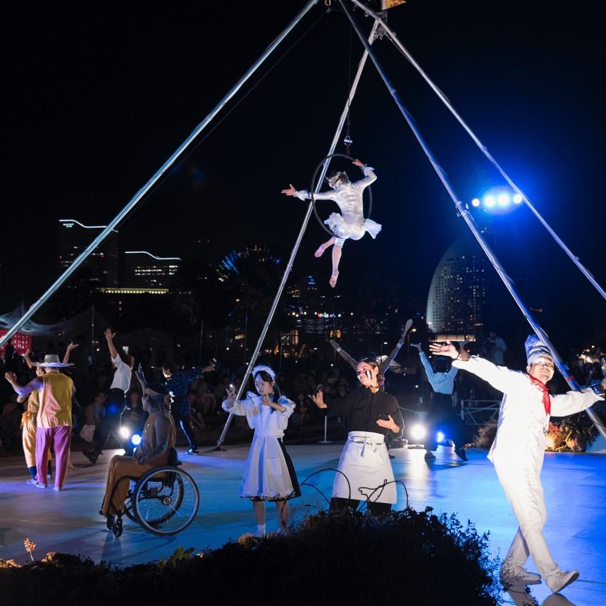 true colors circus slow circus project social circus issues japan tokyo ikebukuro nishiguchi park