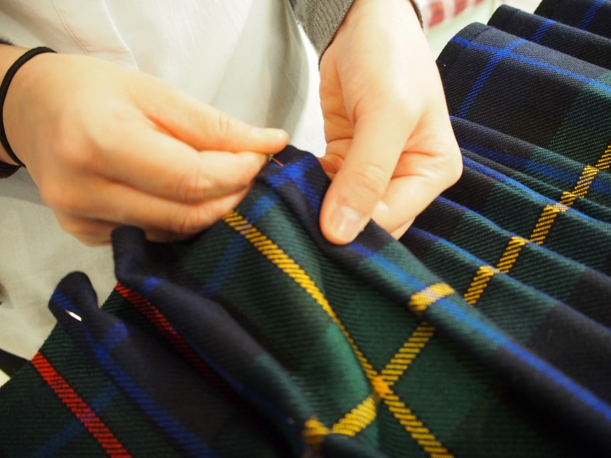 Kilt,Scottish, Kiltmaker,Japanese