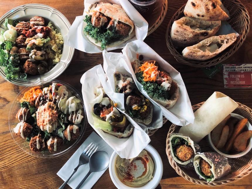 falafel brothers hummus mediterranean cuisine shibuya parco