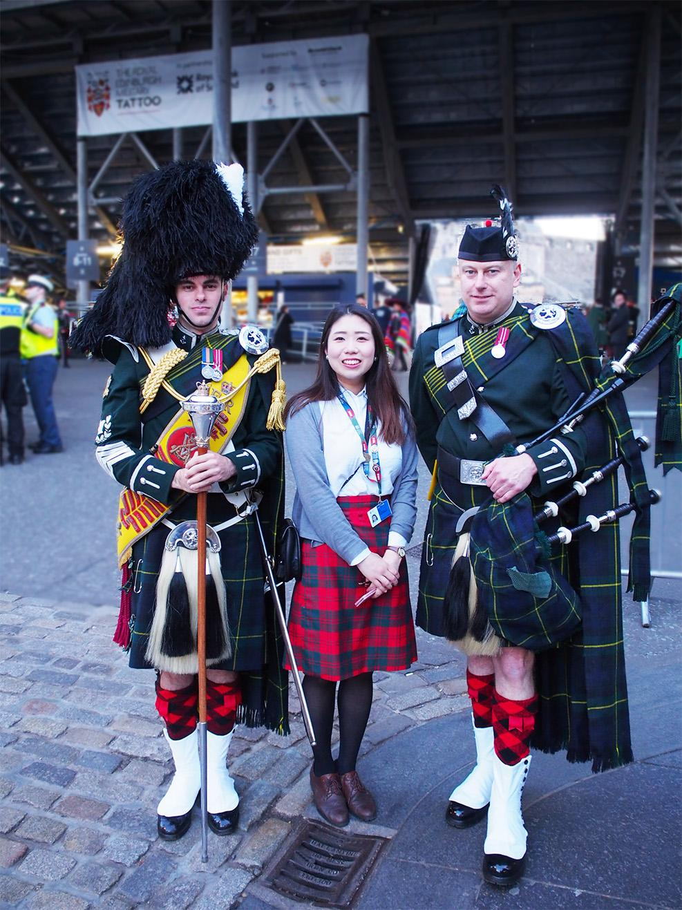 HitomiNomura,Scotland,Scottishpeople,Japanese