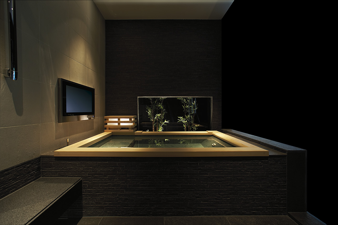 Japanese luxury bathing waburu ustech sento onsen