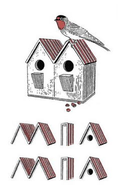 mia mia logo paik design offce bird house coffee