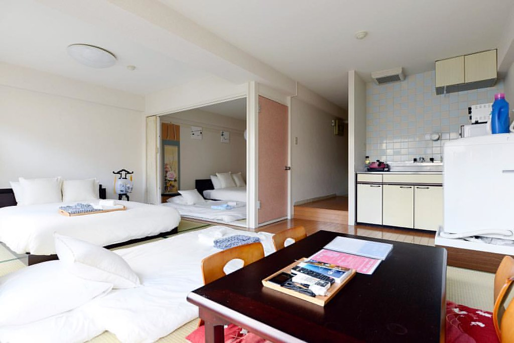 airbnb travel around the world japan coliving hostel