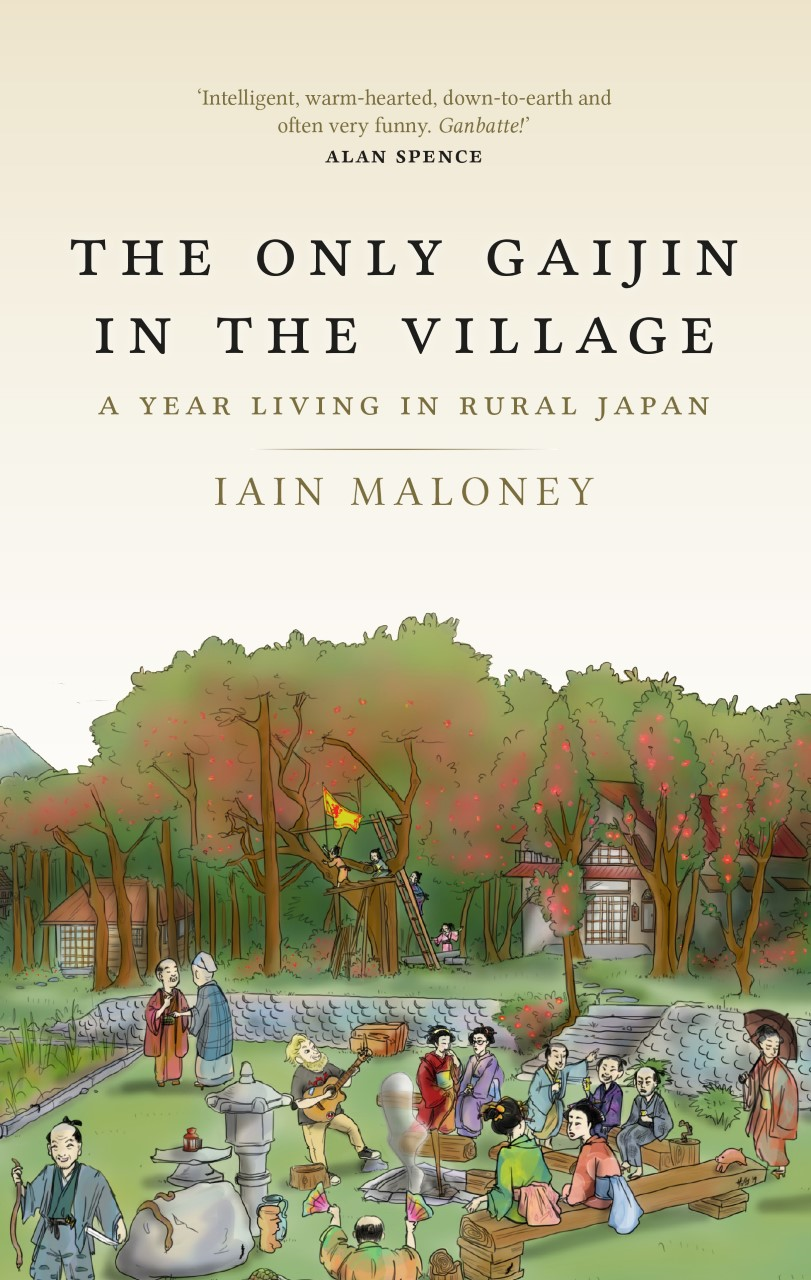 Iain Maloney Author Book The only Gaijin in the Village