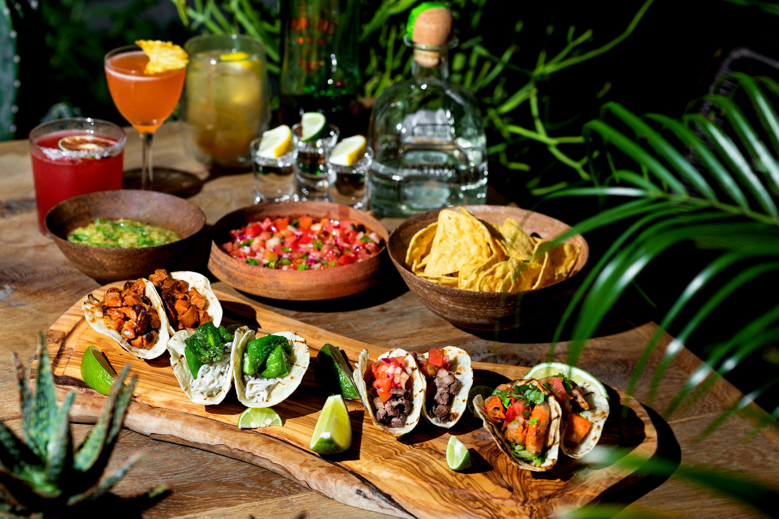 fiesta de taco shibuya trunk kitchen trunk hotel summer seasonal menu mexican food