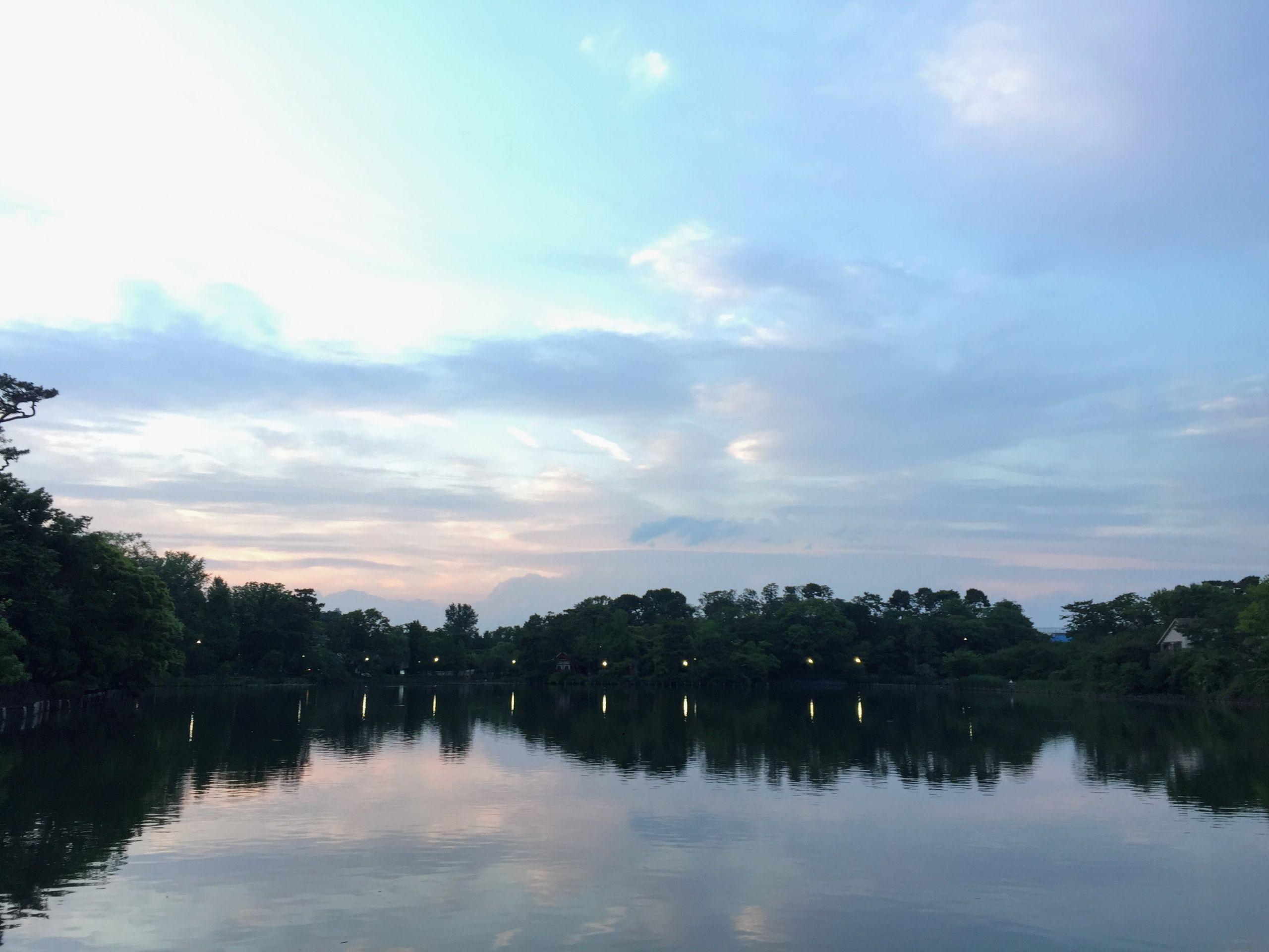Senzokuike in Senzoku Tokyo explore shotengai heartlands lake