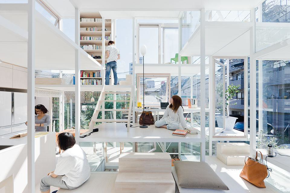 House NA architecture design Shigeru ban sou fujimoto architects the Nippon foundation Tokyo toilet project