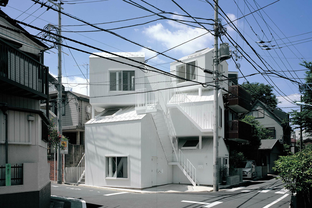 tokyo apartment architecture design Shigeru ban sou fujimoto architects the Nippon foundation Tokyo toilet project